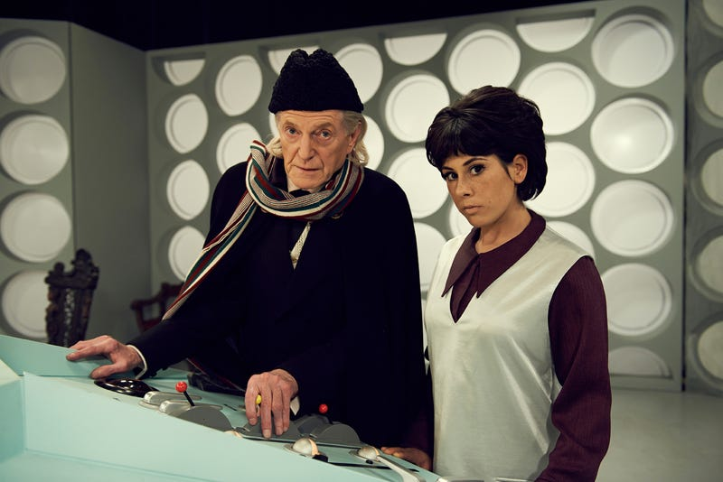 Illustration for article titled New promos for An Adventure in Space And Time are windows to the past