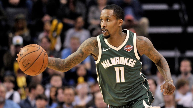 Illustration for article titled Brandon Jennings Brought A Near-Triple-Double For The First Game Of His 10-Day Contract