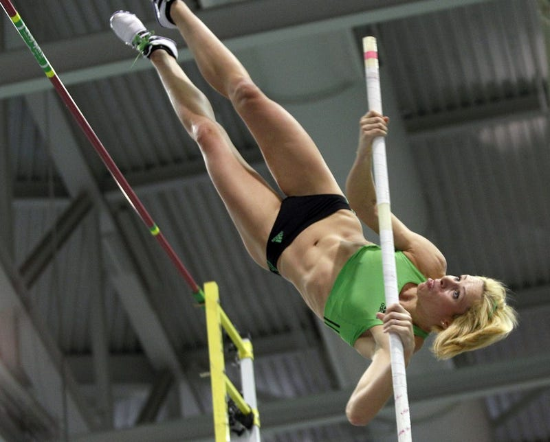 Illustration for article titled Track And Field Athletes Know How To Work The Pole