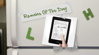 Illustration for article titled Remains of the Day: Amazon Sells Out of the Kindle Paperwhite, New Orders Delayed