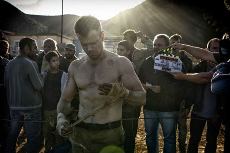 Illustration for article titled Matt Damon Is Ripped And Ready To Go In the First Image From Bourne 5
