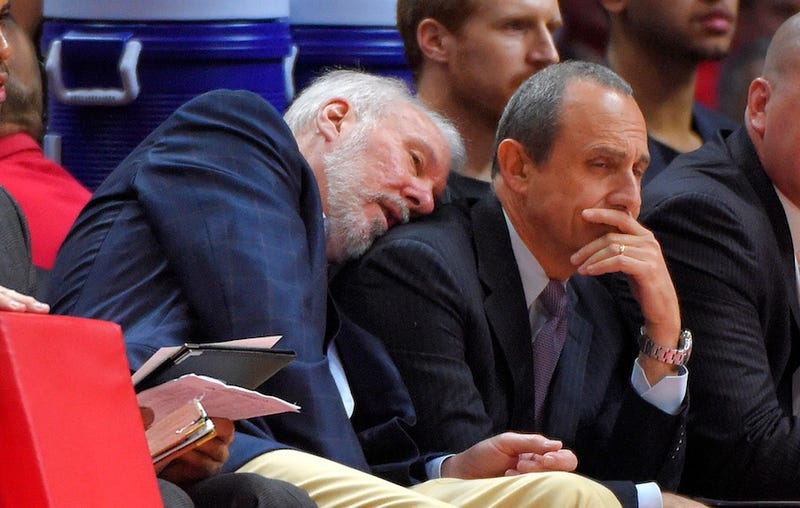 Illustration for article titled Gregg Popovich Will Start Coaching USA Basketball In 2017