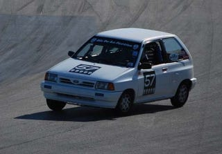 Weve Got Something Of A Dilemma Here At 24 Hours LeMons HQ This Moment 1988 Ford Festiva Is Defying The Odds And Sitting 29th Place Out