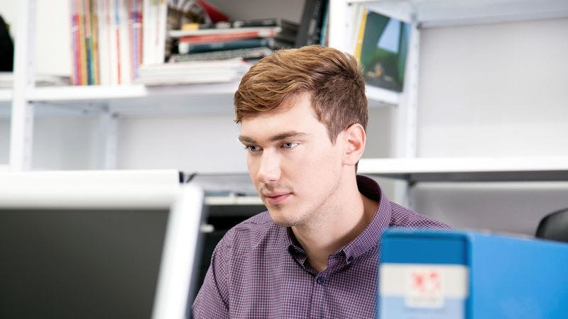 Illustration for article titled New Employee Still Eager Enough To Pick Up Slack For Coworkers