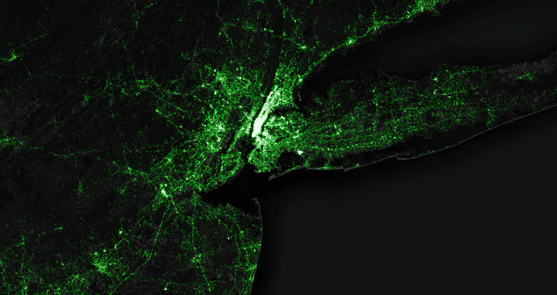 Illustration for article titled The Most Detailed Tweet Map Ever Includes 6,341,973,478 Tweets
