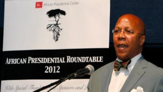 Ambassador Charles R. Stith speaks at Boston UniversityBoston University