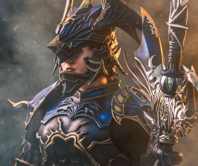 This incredible Final Fantasy XIV Dragoon is by mintyfreshtea. – www ...