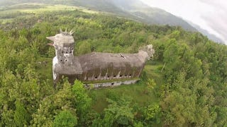 This Bizarre Abandoned Church Is Shaped Like a Giant Chicken