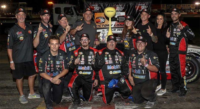 Illustration for article titled 17-Year-Old Hailie Deegan Makes NASCAR History As The First Woman To Win A Race Since 1989