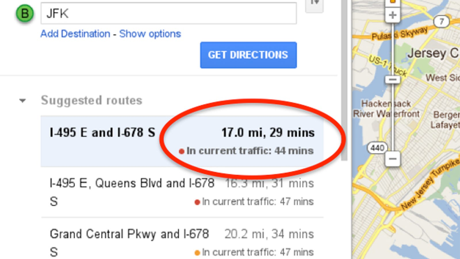 Google Maps' Driving Directions Just Got a Lot More ...