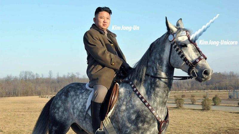 Illustration for article titled A Brief History of North Korean Photoshops