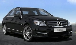 Illustration for article titled 2011 Mercedes C-Class: Refreshed, Accidentally Unveiled