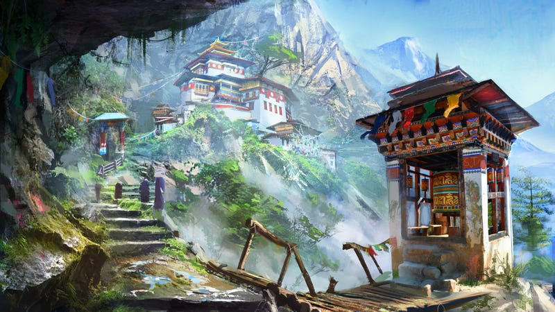 Illustration for article titled Nice Place You Got Here. Be A Shame If Nathan Drake Ever Found It.