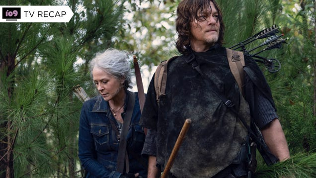 The Walking Dead s Daryl and Carol Power Hour Returns, Minus the Power