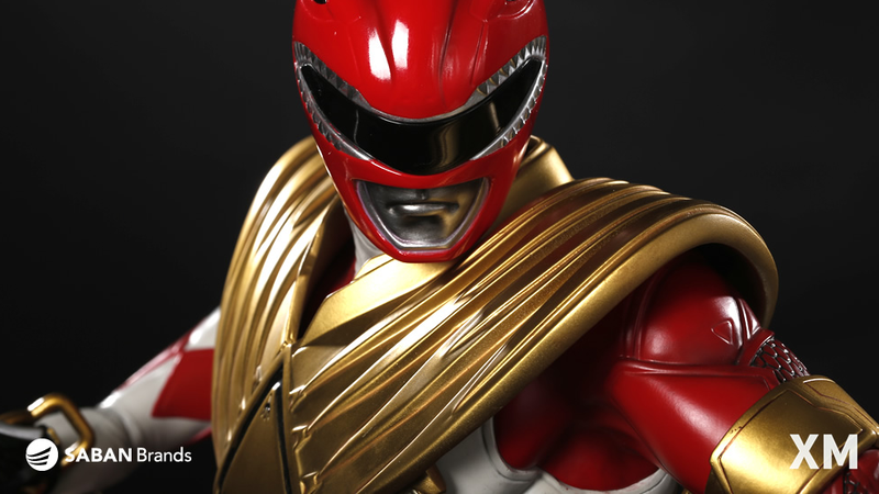 Red Ranger, ready for action.