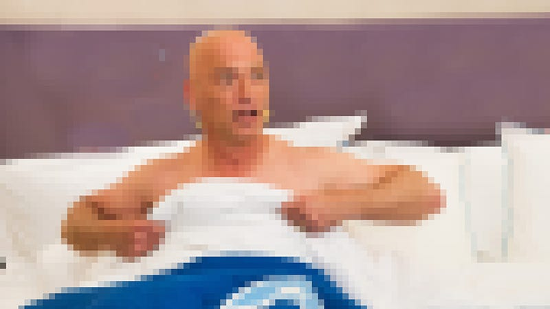 This is a blurred press photo of Howie Mandel. Because we're not going to post actual revenge porn Image: Photo by Charles Sykes/Invision/AP