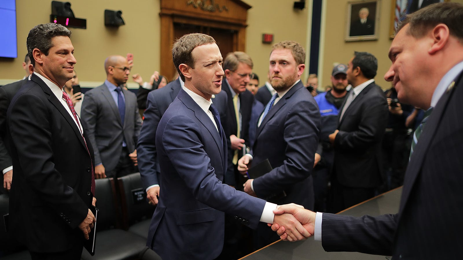 photo image Facebook Already Spent $3.3 Million Lobbying this Year