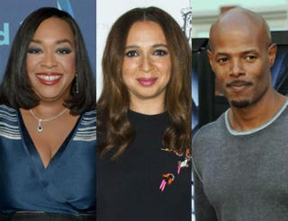 Shonda Rhimes; Maya Rudolph; Keenen Ivory WayansCharley Gallay/Getty Images for GLAAD;VALERIE MACON/AFP/Getty Images;GABRIEL BOUYS/AFP/Getty Images