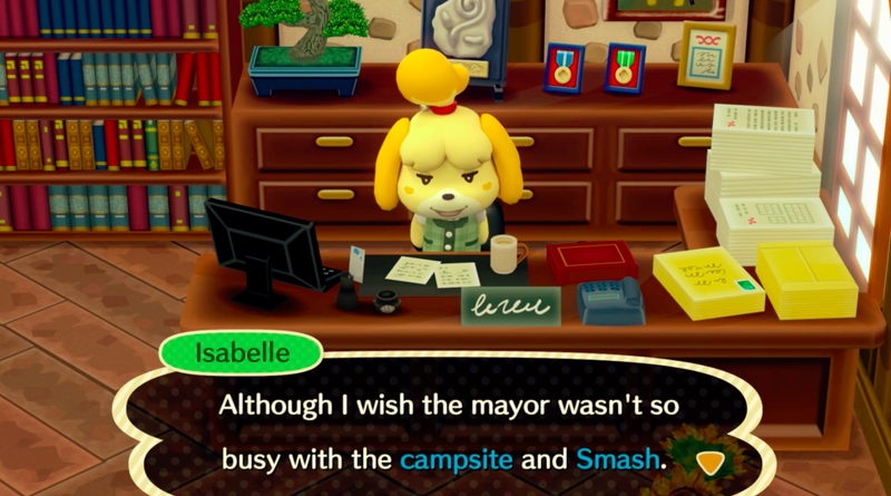Illustration for article titled Isabelle Joins Smash Bros. Ultimate As Nintendo Teases New Animal Crossing