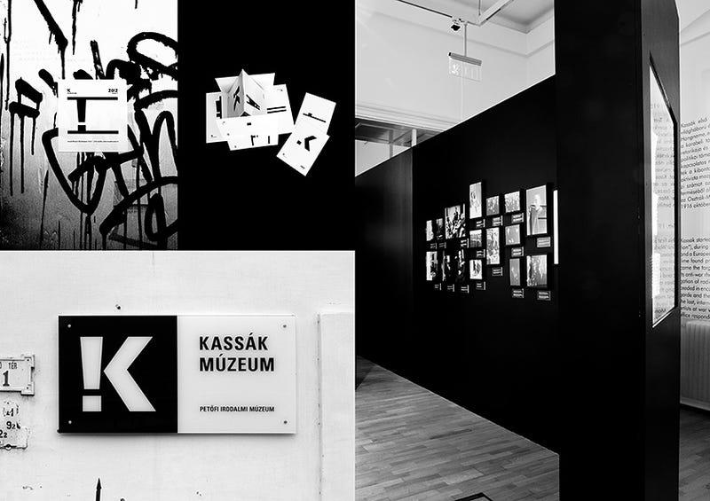 Illustration for article titled Nagy nemzetközi díjat kapott a Kassák Múzeum vizuális arculata
