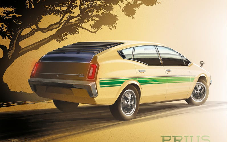 Illustration for article titled 1978 Prius