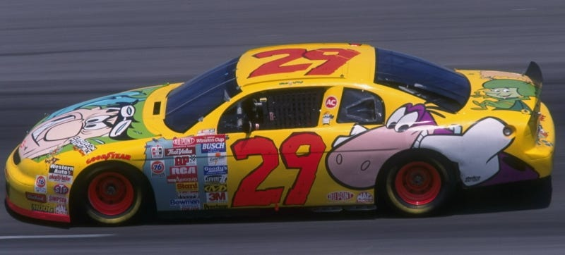 Illustration for article titled What Should Go Into Next Year's NASCAR Throwback Race?