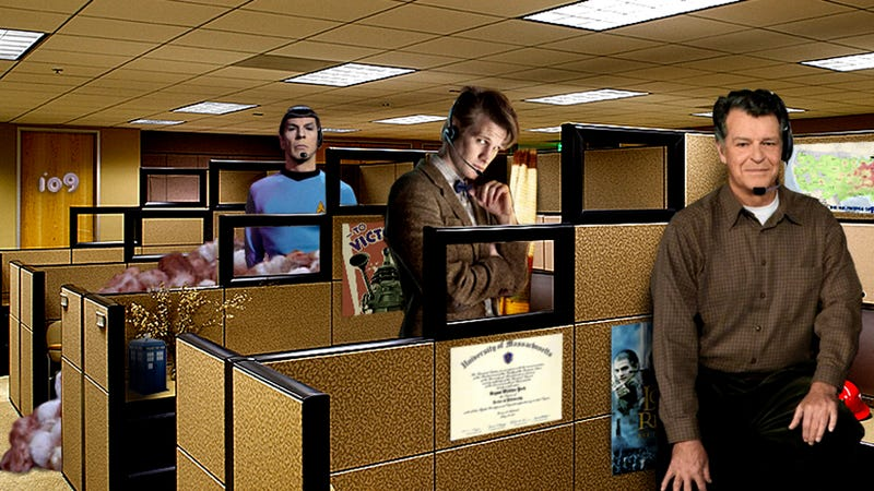Illustration for article titled If Television's Greatest Scientists Worked in Tech Support
