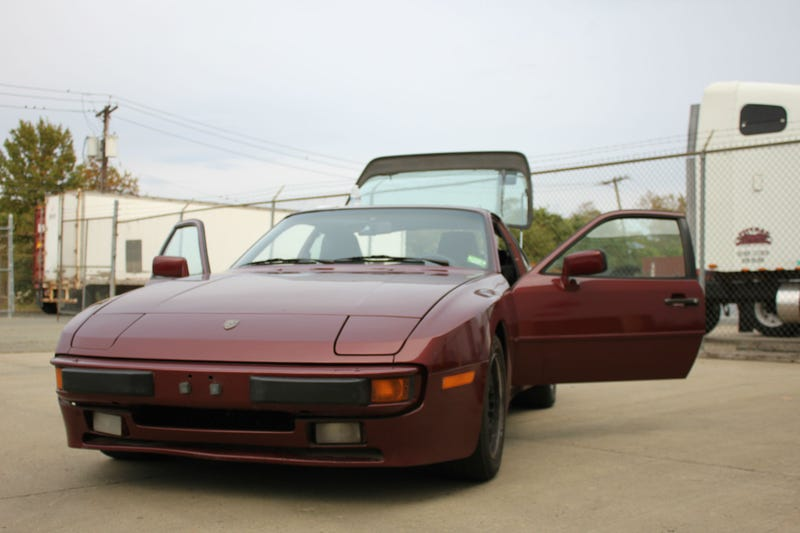 Illustration for article titled Bought This Yesterday; Nearly Died In The Process (1986 Porsche 944)