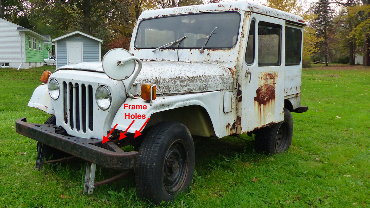 Here's Everything Wrong With My $500 Postal Jeep Off-Road