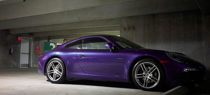 Illustration for article titled Goodnight oppo, have a purple 911 I saw in New Orleans!