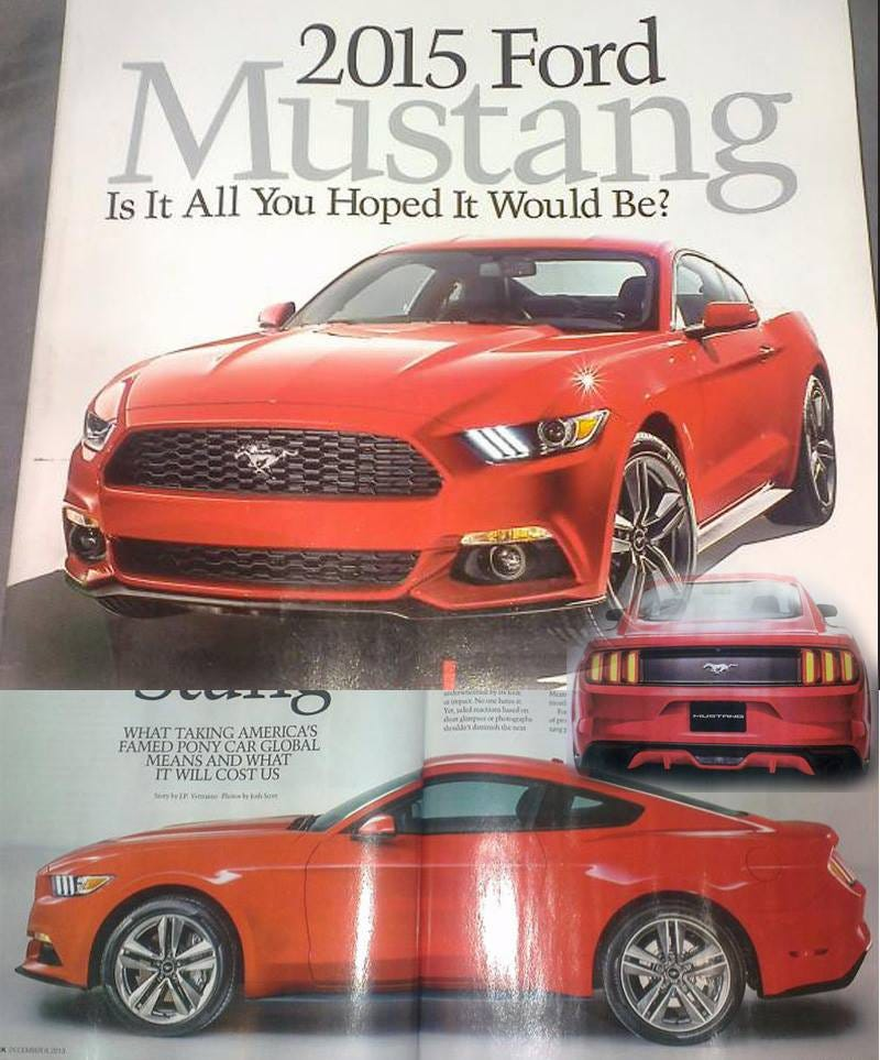 Illustration for article titled '15 Mustang
