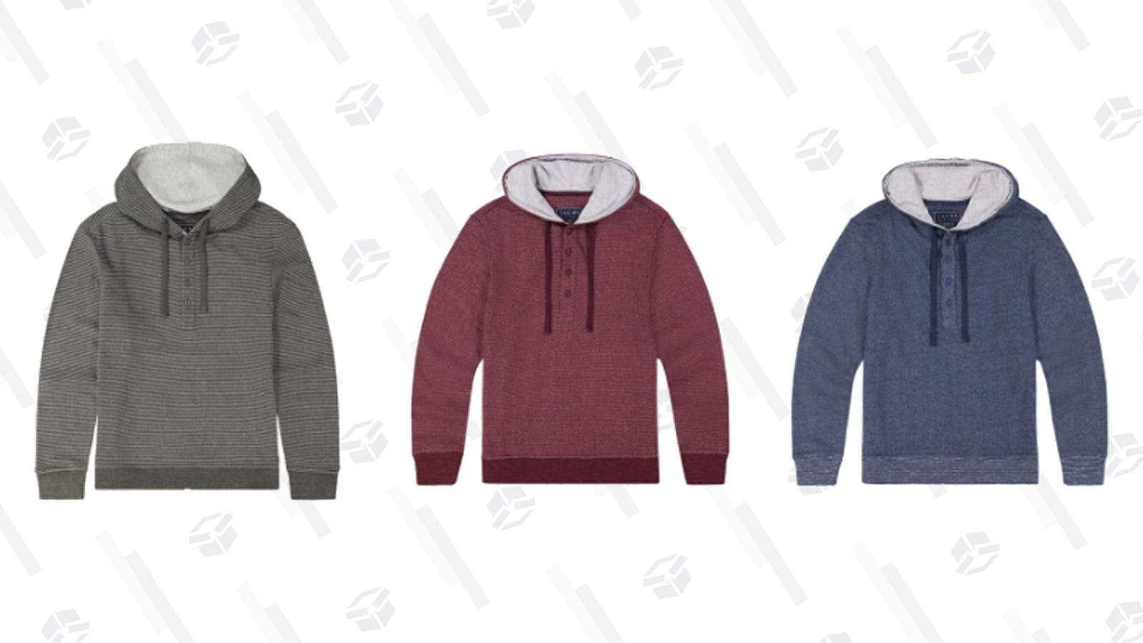 Prep For Fall Weather With Crewnecks and Hooded Henleys, Get 2 For $46 at Jachs thumbnail