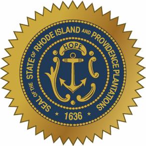 Rhode Island Official Seal