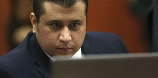 George Zimmerman at jury selection for his trial (Pool/Getty Images)