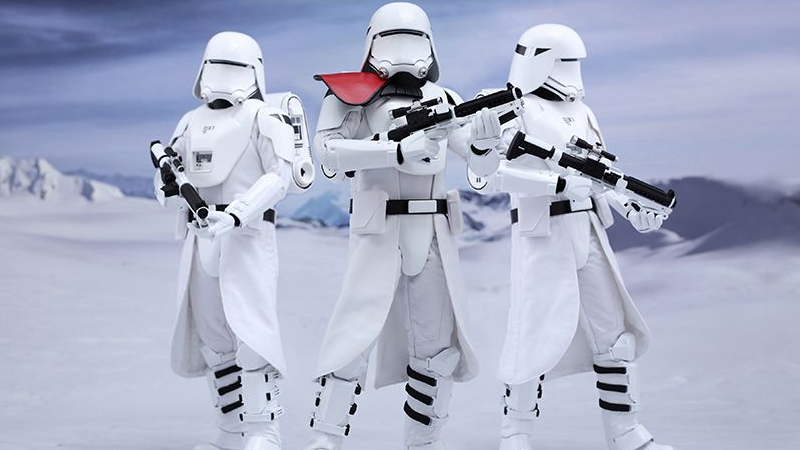 Illustration for article titled Hot Toys' Army of The Force AwakensSnowtroopers Are Here To Commandeer Your Wallet