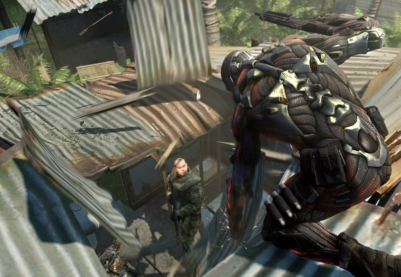 Illustration for article titled Windows 7 Vs. Vista: Which Runs Crysis Fasterer?