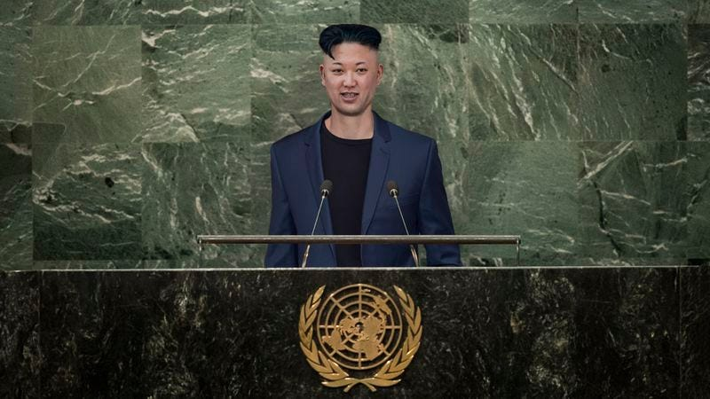 physically fit emotionally stable kim jong un addresses un after finally getting nuclear. Black Bedroom Furniture Sets. Home Design Ideas