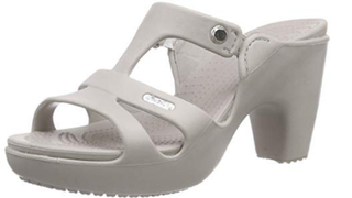 "The ""Cyprus V Heel"" from Crocs."