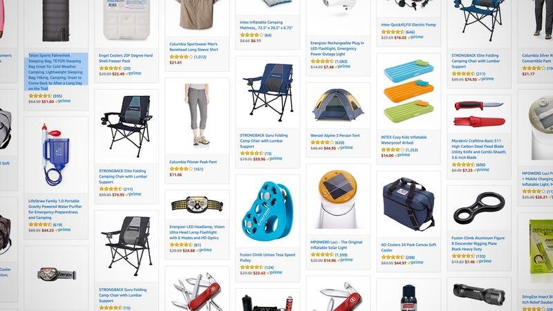 Amazon Camping Sale
