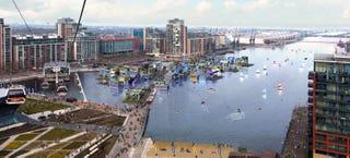"""Un proyecto de ciudad flotante """"para ricos"""" desata polémica en Londres"""