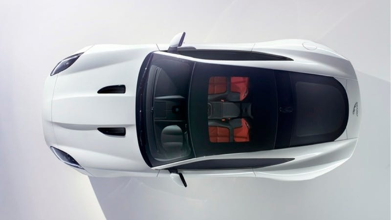 Illustration for article titled The Jaguar F-Type Coupe Is Predictably Gorgeous
