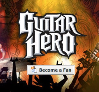 Illustration for article titled A Million Facebook Users Like Guitar Hero