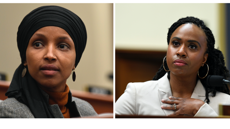 Illustration for article titled Today in Congressional Clapbacks: Ayanna Pressley and Ilhan Omar Respond to 'Distraction Becky' and Lip-Deficient 'Racist Fool'