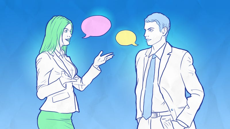 Illustration for article titled How to Say What You Really Mean at Work (and Be Heard)