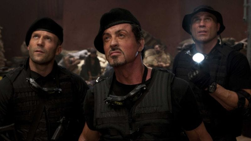 Illustration for article titled Sylvester Stallone accused of stealing another guy's screenplay to make The Expendables