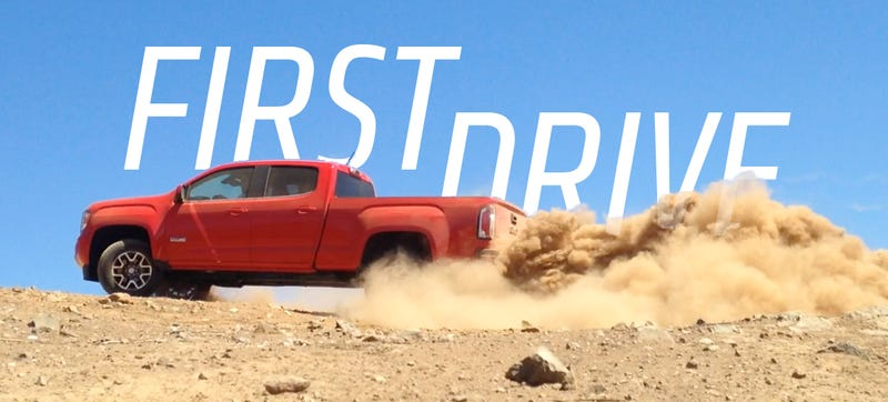 Illustration for article titled First Drive: The 2015 GMC Canyon Is Your Gateway Drug To Trucks