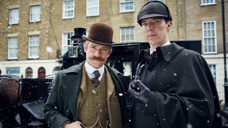Martin Freeman, Benedict Cumberbatch (PBS)