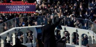 Barack Obama's 2009 inaugural address (Jonathan Torgovnik/Getty Images News)