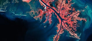 Illustration for article titled Can You Guess Where On Earth These Unearthly Satellite Images Come From?
