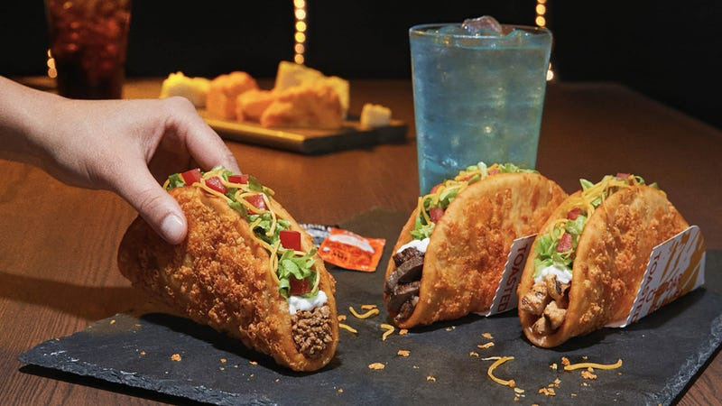 Illustration for article titled Taco Bell Chalupas: Soon with más cheddar